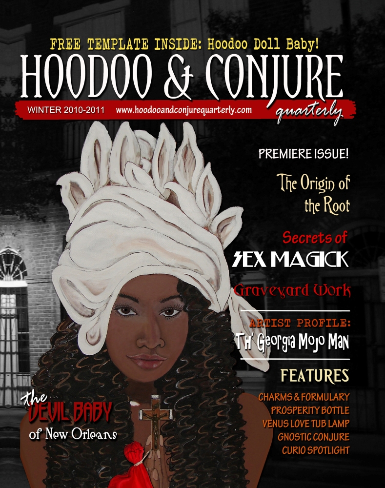 Hoodoo and Conjure Quarterly, a Groundbreaking New Magazine!  (1/2)