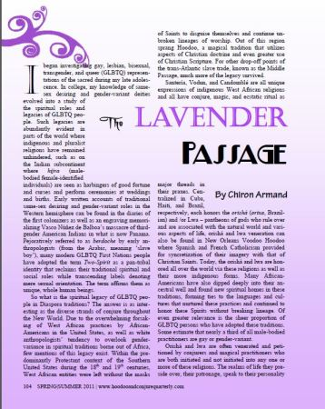 The Lavender Passage