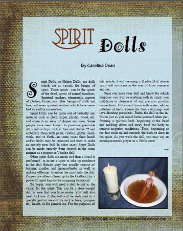 Spirit Dolls