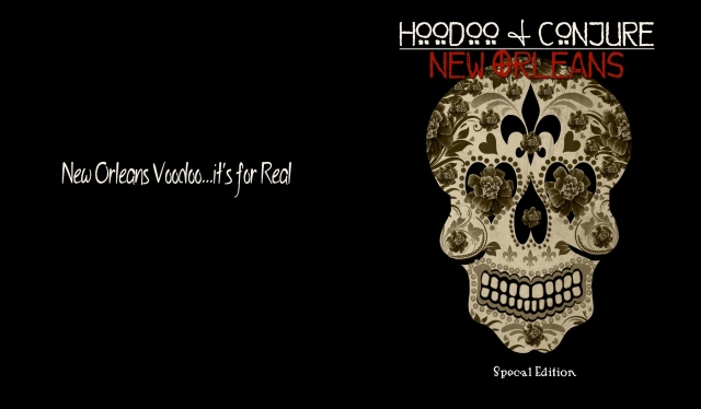 Hoodoo and Conjure: New Orleans. Artwork copyright 2013 Denise Alvarado